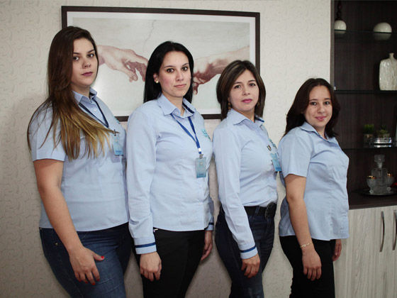 Equipe Administrativa - Gastrocentro